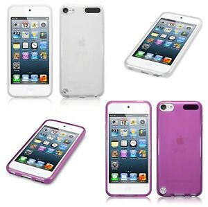 Silicone Slim TPU Gel Back Case Cover For Apple iPod Touch 5