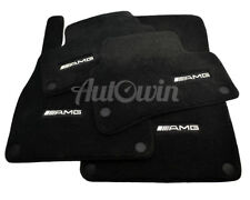 Floor Mats For Mercedes-Benz S Class W222 Black AMG Carpets NEW Premium Quality