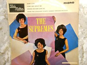THE SUPREMES - The Supremes Hits - Original 1965 Four Track EP 45 RPM