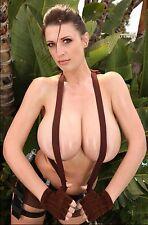PHOTO 6x8 Cosplay Girls Lana Kendrick Lara Croft