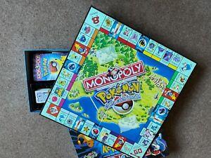 Vintage 1999 Pokemon Monopoly Collector's Edition Hasbro Board Game