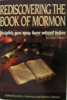 REDISCOVERING THE BOOK OF MORMON-Insights You May Have Missed! LDS Great Book!!!