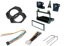 CAR STEREO DASH INSTALL KIT SINGLE DIN WIRE HARNESS REMOVAL KEYS KENWOOD FORD