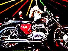 BIG* BSA MOTORCYCLE AD LOT LIGHTNING/THUNDERBOLT/SPITFIRE/SHOOTING STAR/STARFIRE