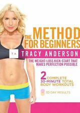 THE TRACY ANDERSON METHOD FOR BEGINNERS DVD NEW SEALED TONING EXERCISE WORKOUT