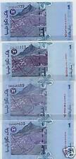 Malaysia Replacement RM $1 Set ZA ZB ZC ZD UNC Banknote