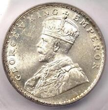 1919-B India Rupee KM-524 - ICG MS62 - Rare Certified BU UNC Coin