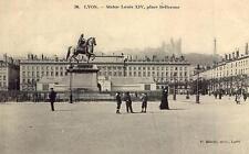 LYON Statue Louis XIV Place Bellecour