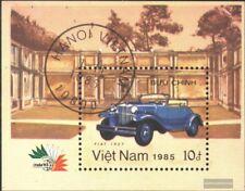 Vietnam Block42 (kompl.Ausg.) gestempelt 1985 ITALIA 1985: Automobile