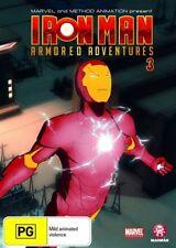 Iron Man Armored Adventures : Vol 3 (DVD, 2009)
