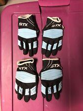 Stx Kids Lacross Gloves: 2 Pair: Small & Medium