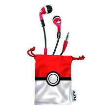 iHome Pokemon Noise-Isolating Earbuds w/ built-in microphone/pouch Nintendo NEW