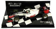 Minichamps Haas F1 Team VF-16 2016 - Esteban Gutierrez 1/43 Scale