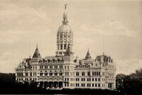 Connecticut State Capitol Hartford Washington D.C. 1887 view print photogravure
