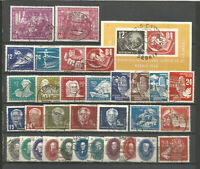 DDR  1950 gestempelt   komplett