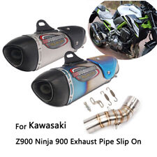 Exhaust Pipe for 2017-2019 Kawasaki Z900 Motorcycle Mid Slip On 51 mm Muffler