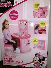 Minnie Mouse POP-UP Pretend N' Play Salon Activity Table Set Compact Disney Kids