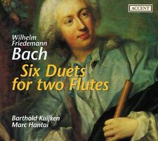 W.F. Bach / Kuijken - Six Duets for Two Flutes [New CD]