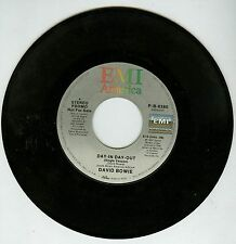 David Bowie Day-In-Day-Out PROMO 7'' Vinyl Record USA press