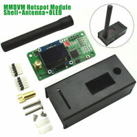 UHF/VHF MMDVM hotspot OLED+ Antenna+ Case Support P25 DMR YSF for Raspberry pi