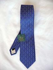 Ede Ravenscroft Brand New violet silk tie RRP £80