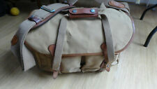 BILLINGHAM Large Camera Bag Khaki leather canvas, Digital SLR