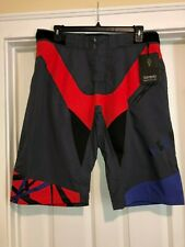Sombrio Charger Mountain Bike Mtb Baggy Cycling Shorts Black Size Small New