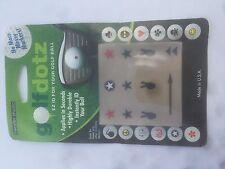 Golf Dotz ID Ball Marker Transfers - Various designs