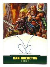 TOPPS MARS ATTACKS OCCUPATION CREATORS AUTOGRAPHED CARD A10 DAN BRERETON