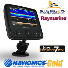 Raymarine Dragonfly 7 PRO GPS Combo with CHIRP Transducer + Navionics Plus Maps