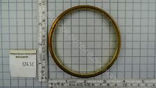 BRASS ROUND RING TO HOLD GLASS FOR BAROMETER Ø 9,5 CM