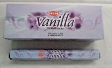 Original Hem Vanilla Incense 100 Sticks-Pack of 5x20 Sticks Free Shipping