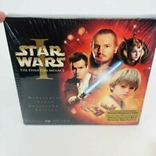 Star Wars 1 The Phantom Menace Widescreen VHS Video Collector's Edition 2000