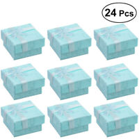 24pcs Jewellery Gift Boxes Display Storage Case for Earring  Bracelet Necklace