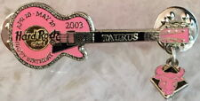 Hard Rock Cafe JAPAN 2003 Taurus BIRTHDAY GUITAR PIN Zodiac Dangler HRC #35192