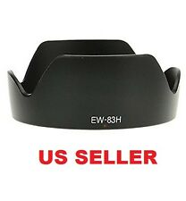 EW-83H Camera Lens Hood for Canon 24-105mm f/4L IS USM DSLR Lens