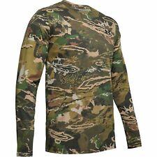 Under Armour 1343241 Men's UA Scent Control Camo Long Sleeve Shirt, Forest Camo