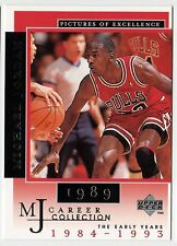 Michael Jordan 1998 UD 1989 Career Collection UNMATCH INTENSITY Basketball Card