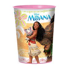 MOANA REUSABLE KEEPSAKE CUPS (2) ~ Birthday Party Supplies Plastic Favors Disney