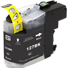 1 Black Ink Cartridge For Brother LC127XL-BK DCP-J4110DW MFC-J4410DW MFC-J4510DW