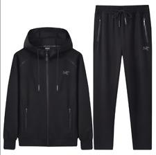 New Men's Sweatshirt Suit Casual Sportswear Big size Hooded Activewear Tracksuit