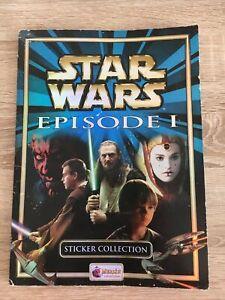 Star Wars Episode 1 Sticker Album -  Complete Merlin Sticker Collection
