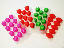 Eiswürfelform Herz Apfel Lippen Himbären Eiswürfel Eiswürfelbereiter