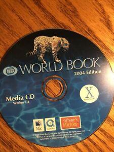 World Book 2004 Edition V7.2 MacOS X Media CD