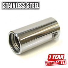 Car Exhaust Tip Muffler Trim Pipe Chrome Stainless Steel Durable