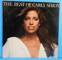THE BEST OF CARLY SIMON LP 1975 ORIGINAL PRESS GREAT CONDITION! VG++/VG+!!B