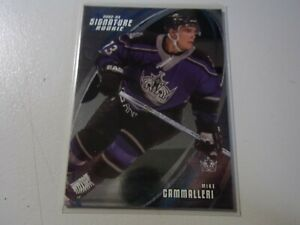 2003-04 In The Game Signature Rookies Mike Cammalleri #197 RC