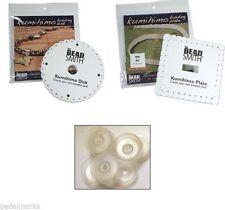 Craft KUMIHIMO KIT ~2 Braiding Disks (1 Round+1 Square) + 8 Bobbins +20 ft CORD