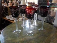 Red Cranberry Art Glass
