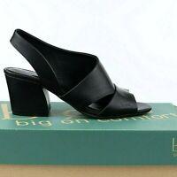 b.o.c. EMILIA Womens Black Heeled Sandals Size 9 Slingback Dress Sandals - NEW